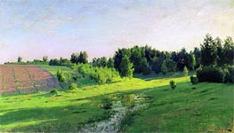 Evening Shadows | Isaac Levitan | Painting Reproduction