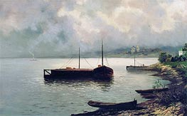 Volga | Isaac Levitan | Painting Reproduction