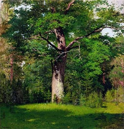 Oak, 1880 by Isaac Levitan | Painting Reproduction