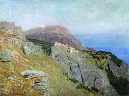 Corniche. Southern France, 1895 by Isaac Levitan | Painting Reproduction