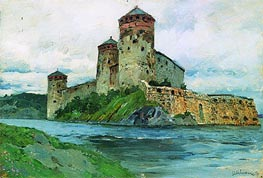 Fortress. Finland, 1896 by Isaac Levitan | Painting Reproduction