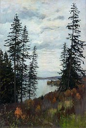 On the North | Isaac Levitan | Gemälde Reproduktion