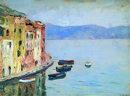 Lake Como, 1894 by Isaac Levitan | Painting Reproduction