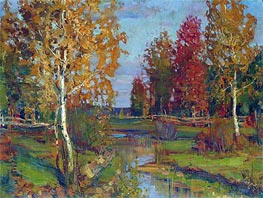 Autumn | Isaac Levitan | Painting Reproduction