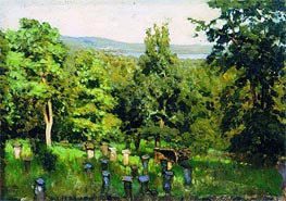 Apiary, 1887 by Isaac Levitan | Painting Reproduction