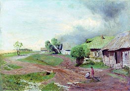 Before the Storm, 1879 by Isaac Levitan | Painting Reproduction