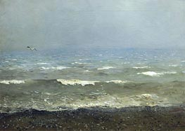 Coast of Mediterranean Sea | Isaac Levitan | Painting Reproduction