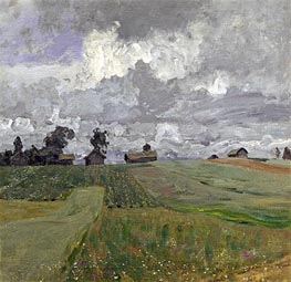 Stormy Day | Isaac Levitan | Painting Reproduction