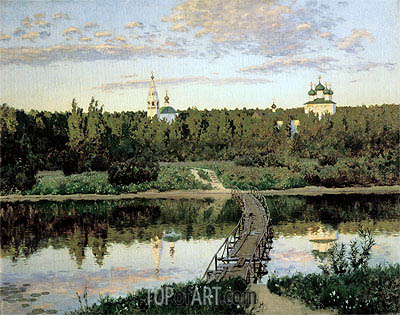 The Quiet Abode, 1890 | Isaac Levitan | Painting Reproduction