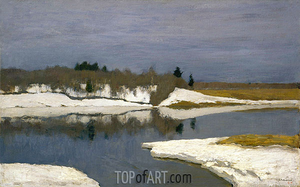 Early Spring, 1898 | Isaac Levitan | Painting Reproduction