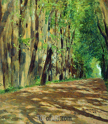 Alley, c.1880/83 | Isaac Levitan | Painting Reproduction