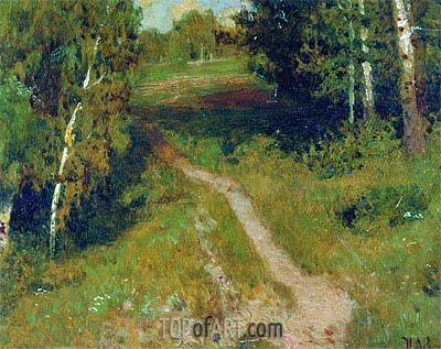 Birch Grove, Undated   Isaac Levitan   Painting Reproduction