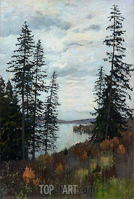 On the North, 1896 | Isaac Levitan | Gemälde Reproduktion