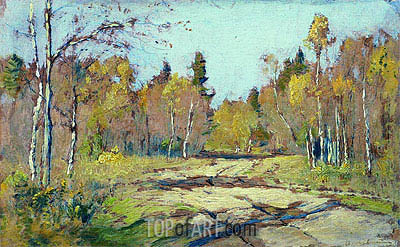 Autumn Sunny Day, c.1897/98 | Isaac Levitan | Painting Reproduction