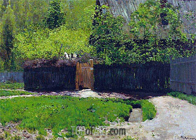 The First Greens. May, c.1883/88 | Isaac Levitan | Gemälde Reproduktion