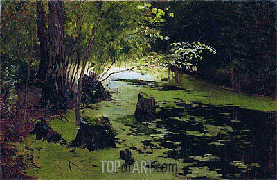Pond, Undated | Isaac Levitan | Painting Reproduction
