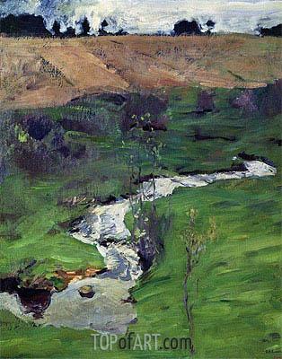 Stream, 1899 | Isaac Levitan | Gemälde Reproduktion