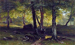 Grove, 1865 by Ivan Shishkin | Painting Reproduction