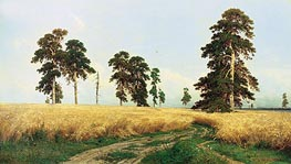 Rye, 1878 by Ivan Shishkin | Painting Reproduction