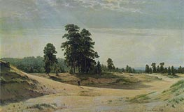The Sands, 1887 by Ivan Shishkin | Painting Reproduction
