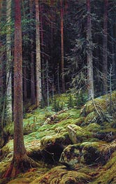 The Thicket, 1881 by Ivan Shishkin | Painting Reproduction