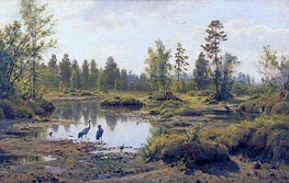 The Polesye Moorlands | Ivan Shishkin | Painting Reproduction
