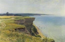 On the Shore of the Gulf of Finland | Ivan Shishkin | Painting Reproduction