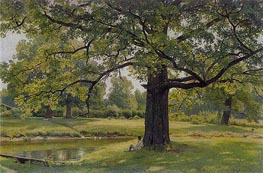 Oak Trees in Old Peterhof | Ivan Shishkin | Painting Reproduction