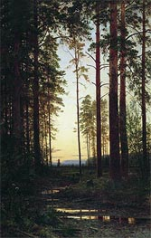 Dusk | Ivan Shishkin | Painting Reproduction