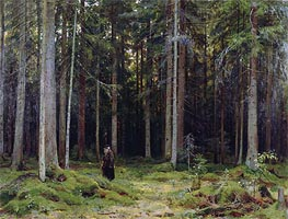 Countess Mordvinov's Forest | Ivan Shishkin | Gemälde Reproduktion