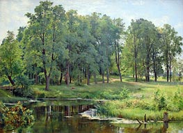In the Park | Ivan Shishkin | Painting Reproduction
