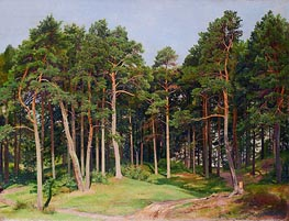 Pine Forest, Merrekyul, 1894 by Ivan Shishkin | Painting Reproduction