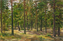 In the Pine Forest, 1889 by Ivan Shishkin | Painting Reproduction