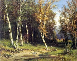 Forest Before the Storm, 1872 by Ivan Shishkin | Painting Reproduction