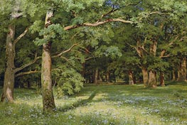 The Forest Clearing | Ivan Shishkin | Painting Reproduction
