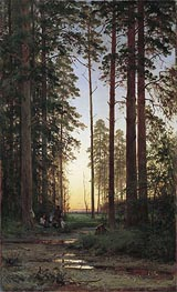 Edge of the Forest | Ivan Shishkin | Gemälde Reproduktion