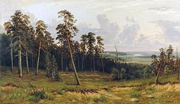 The Edge of the Forest | Ivan Shishkin | Painting Reproduction
