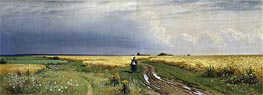 Road in the Rye | Ivan Shishkin | Painting Reproduction