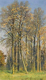 Rowan Trees in Autumn, 1892 by Ivan Shishkin | Painting Reproduction