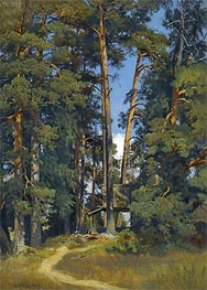 Woodland Grove, undated by Ivan Shishkin | Painting Reproduction