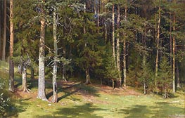 The Clearing, 1878 by Ivan Shishkin | Painting Reproduction
