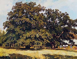 Mordvinovskie Oaks | Ivan Shishkin | Painting Reproduction