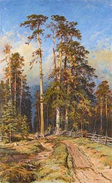 Pine Forest, 1897 by Ivan Shishkin | Painting Reproduction