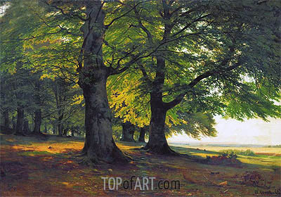 The Teutoburg Forest, 1865 | Ivan Shishkin | Painting Reproduction