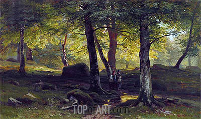 Grove, 1865 | Ivan Shishkin | Painting Reproduction