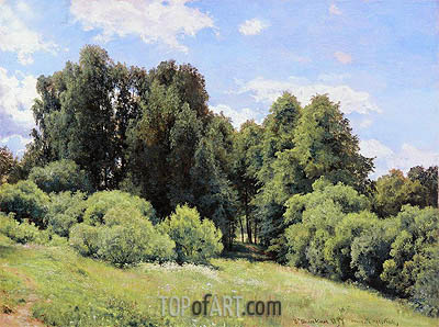 The Glade, 1897 | Ivan Shishkin | Painting Reproduction