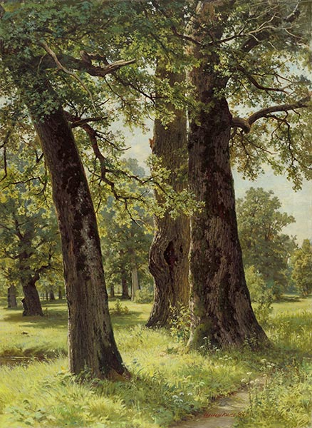 Oaks, 1887 | Ivan Shishkin | Painting Reproduction
