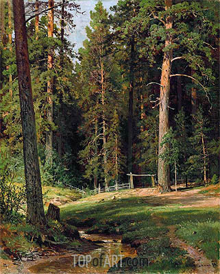 Forest Edge, 1884 | Ivan Shishkin | Painting Reproduction