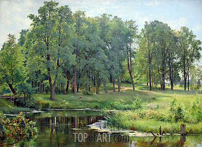In the Park, 1897 | Ivan Shishkin | Painting Reproduction