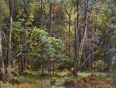 Forest, 1887 | Ivan Shishkin | Painting Reproduction